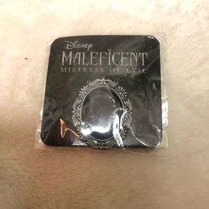 NWT maleficent Victorian silhouette vintage pin